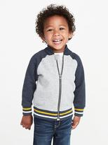 Old Navy Tipped Fleece Bomber Jacket for Toddler Boys