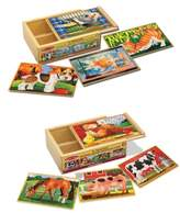 Melissa & Doug Toddler Pets And Farm Animals Puzzles