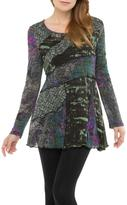 Adore Abstract Flare Tunic