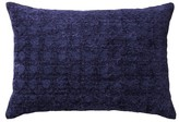 "Threshold Blue Cane Chenille Oblong Toss Throw Pillow (20""X14"