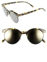 Oliver Peoples Women's Ezelle 51Mm Retro Sunglasses - Black/ Gold