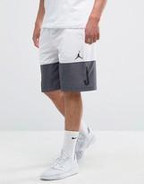 Nike Jordan Classic Aj Blockout Shorts In White 831338-100
