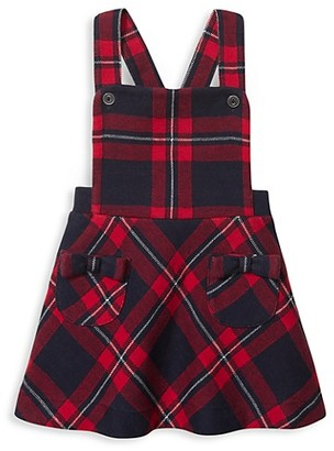 Janie and Jack Baby Girl's Plaid Romper