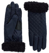 Echo Fleece-Trimmed Gloves