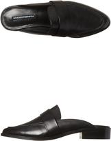 Windsor Smith Neve Womens Leather Flat Black