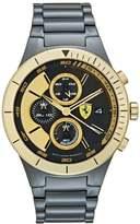 Ferrari Chronograph Watch Schwarz