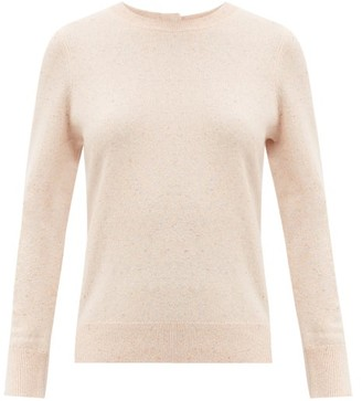 Altuzarra Yumi Back-buttoned Cashmere Sweater - Light Pink