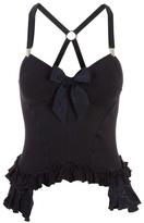 HIGH - Bow detail corset top