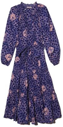 Ulla Johnson Bevyn Dress in Cobalt