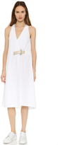 Acne Studios Chen Wrap Dress