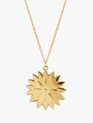 Georg Jensen Dianthus Christmas Tree Decoration, 18 Karat Gold