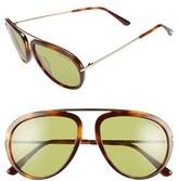 Tom Ford Women's 'Stacy' 57Mm Sunglasses - Black/ Super Bronze