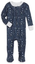 Infant Boy's Rosie Pope Galaxy Fitted One-Piece Footed Pajamas