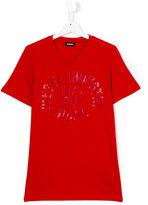 Diesel logo print T-shirt - kids - Cotton - 14 yrs