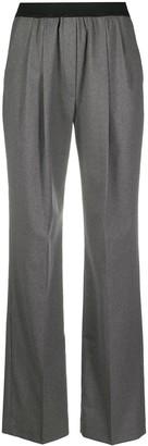 LOULOU STUDIO Straight-Leg Elasticated Trousers