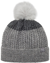 Joules Two Tone Lambswool Rich Bobble Hat