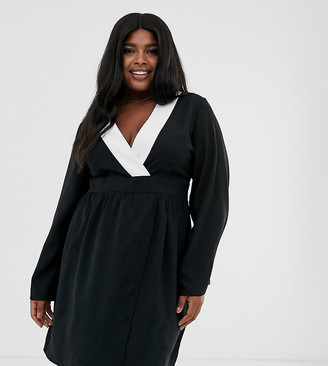 Unique21 Hero Unique21 contrast trim kimono dress