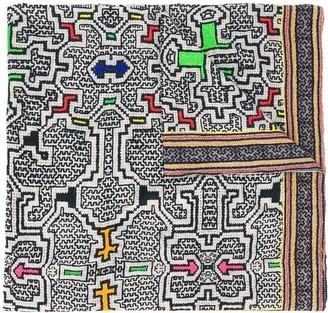 Faliero Sarti Bazar geometric-print scarf