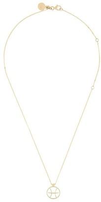 Karen Walker Pisces necklace