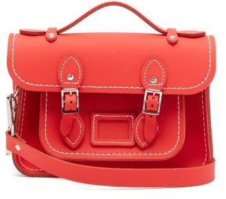 COMME DES GARÇONS GIRL X The Cambridge Satchel Company Leather Bag - Red