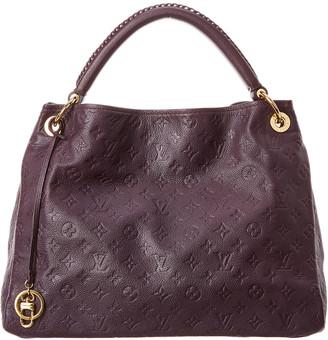 Louis Vuitton Purple Monogram Empreinte Leather Artsy Mm
