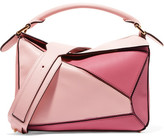 Loewe Puzzle Small Leather Shoulder Bag - Pink