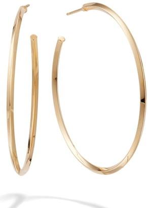Lana Pointed Royale Hoop Earrings