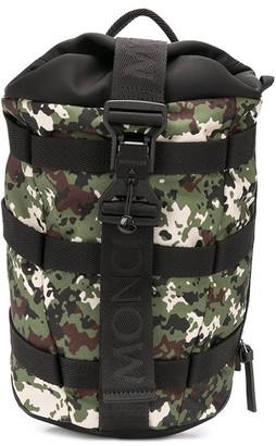 Moncler Argens camouflage backpack