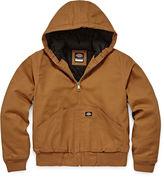 Dickies Sanded Duck Hooded Zip Jacket - Boys 8-20