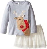 Mud Pie Reindeer Skirt Set (Infant/Toddler)