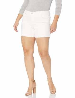 Jessica Simpson Women's Plus Size Forever Roll Cuff Short