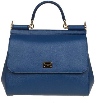 Dolce & Gabbana Regular Calfskin Sicily Bag