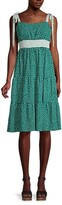 Thumbnail for your product : BCBGeneration Dot-Print Empire Dress