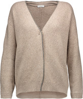 Brunello Cucinelli Embellished wool-blend cardigan