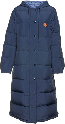 Kenzo Long Double Face Tiger Down Jacket
