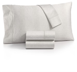 Charter Club Sleep Luxe Cotton 800-Thread Count 4-Pc. Printed California King Sheet Set, Created for Macy's Bedding