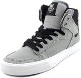 Supra Mens Vaider Blk White Skate Shoes
