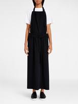 DKNY Pure Twill Apron Maxi Dress