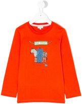 Paul Smith zebra print top - kids - Cotton - 2 yrs