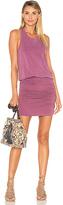 Sundry Ruched Mini Dress
