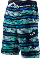 TYR Men's Paint-Striped Swim Trunks
