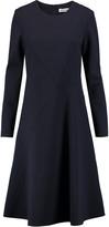 Jil Sander Stretch wool-blend midi dress