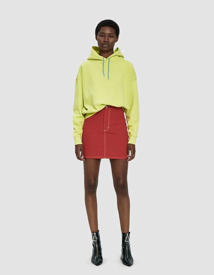 Eckhaus Latta El Nylon Mini Skirt