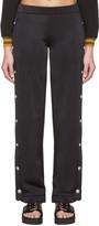 Versus Black Side Slit Lounge Pants