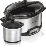 Hamilton Beach 6-qt. Programmable Stay or Go Slow Cooker