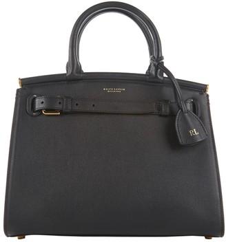 Ralph Lauren Black Leather Handbags