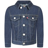Levi's Levis KidswearBoys Indigo Trucker Denim Jacket
