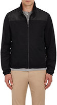 Michael Kors Men's Zip-Front Track Jacket-BLACK