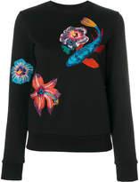 Paul Smith Ocean embroidery sweatshirt