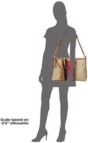 Gucci Rania Top-Handle GG Canvas Bag